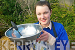 Danielle O'Leary a student at St Brigids Secondary School in Killarney who will get the opportunity to cook for none other than chef Nevin Maguire in the finals of a national cookery competition.