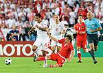 Roger Guerreiro and Christoph Leitgeb at Euro 2008. Austria-Poland 06122008, Wien, Austria