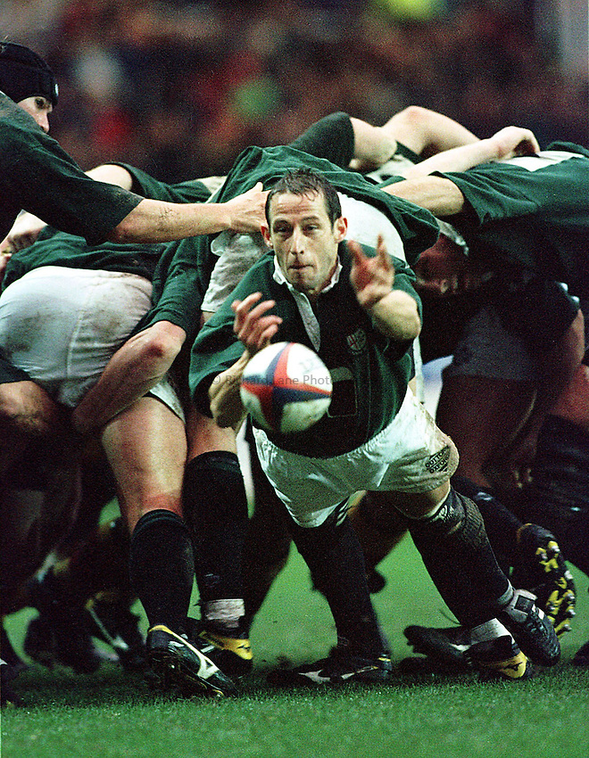 Photo: Ken Brown.26.12.98  Richmond v London Irish.Kevin Putt