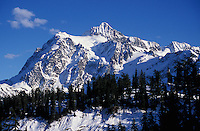 Mt. Shuksan, Cascade Range, Washington