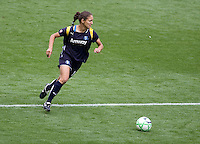 LA Sol's Stephanie Cox. The LA Sol defeated the Washington Freedom 2-0 in the opening game of Womens Professional Soccer at Home Depot Center stadium on Sunday March 29, 2009.  .Photo by Michael Janosz