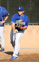 Robert Boothe / Los Angeles Dodgers 2008 Instructional League..Photo by:  Bill Mitchell/Four Seam Images