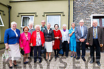 Courtney Reunion <br /> Bessie Courntey, Gortnaboul, Kenmare, 100 Years since leaving home to enter Civil Service in London, 1917-2017 after taking her Civil Service exam in Kenmare. <br /> A family reunion that took place in Brooklane on Tue 5th Sept with all Bessie Courntey's cousins. <br /> L-R: Sr Helen Randles, Bridget Lucey, Breeda Harney, Nonie Randles and Nora O'Shea, Eileen Wolfle, Mary Danator, Con, Tom, Paudie and John Randles.