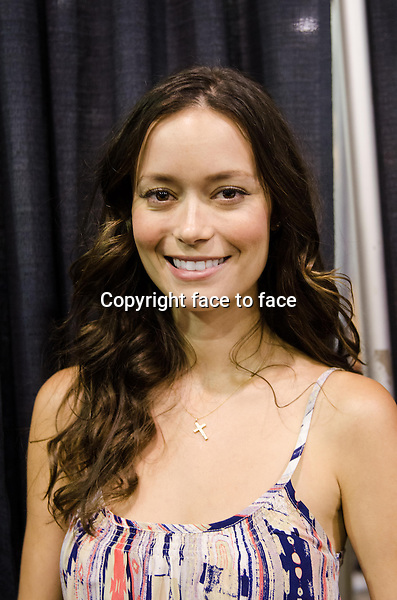 Summer Glau appears at Wizard World Chicago Comic Con in Rosemont, Illinois, 10.08.2013.<br />