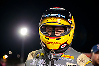Sep 27, 2019; Madison, IL, USA; NHRA top fuel driver Richie Crampton during qualifying for the Midwest Nationals at World Wide Technology Raceway. Mandatory Credit: Mark J. Rebilas-USA TODAY Sports