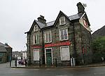 Closed down pub, The Commercial, Blaenau Ffestiniog, Gwynedd, north Wales, UK