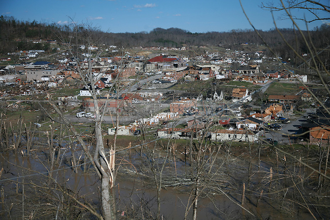 A view from Hopsital Hill of West Liberty, Ky. March 3, 2012. Photo by Brandon Goodwin   Staff