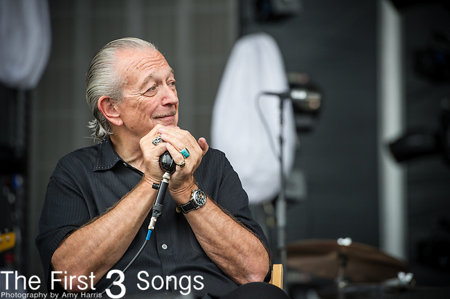 Charlie Musselwhite performs during Day 3 of the 2013 Firefly Music Festival in Dover, Delaware.