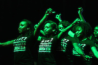 Maroon Madness 2016 - National Panhellenic Council's Step Show/Stroll Off.<br />  (photo by Kelly Price / &copy; Mississippi State University Athletics)