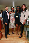(Left to right) Shannon Lanier, Lola Ogunnaike, Amber Sizemore and Eka Obaigbena attend the African Health Now - Fashion Fete event, at the Tracy Reese store on 641 Hudson Street, June 20, 2013.