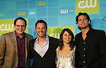Life Unexpected - Austin Basis, Kerr Smith, Shiri Appleby, Kristoffer Polaha at The CW Upfront 2010 green carpet arrivals on May 20, 2010 at Madison Square Gardens, New York, New York. (Photo by Sue Coflin/Max Photos)