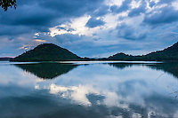 Giritale Lake (Giritale Wewa) in North Central Province, Cultural Triangle, Sri Lanka, Asia. This is a photo of Giritale Lake (Giritale Wewa) in North Central Province, Cultural Triangle, Sri Lanka, Asia.