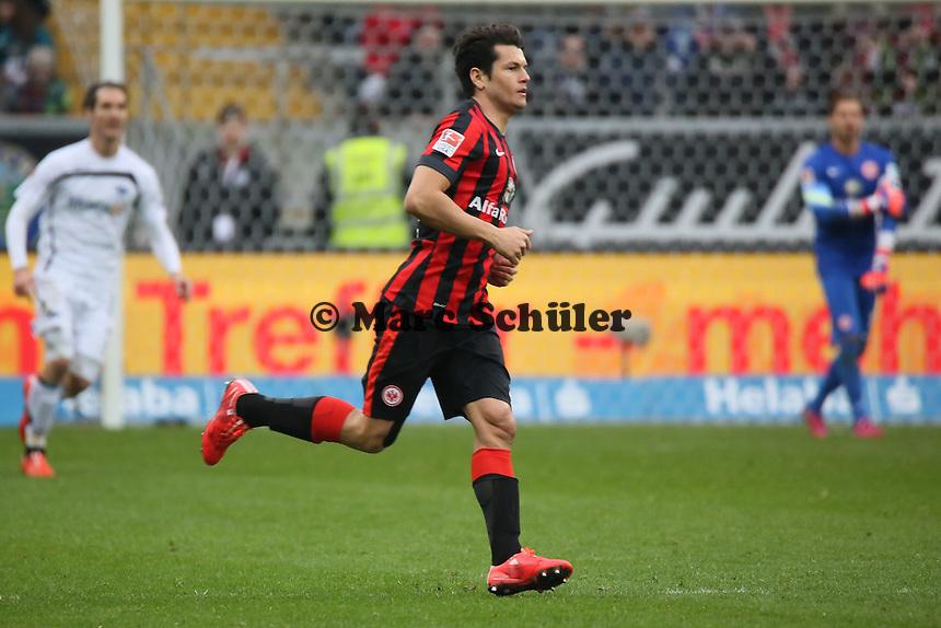Nelson Valdez (Eintracht) feiert sein Comeback - Eintracht Frankfurt vs. SC Paderborn 07, Commerzbank Arena