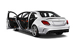 Car images of 2018 Mercedes Benz C-Class AMG-C63-S 4 Door Sedan Doors