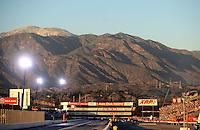 Nov 12, 2010; Pomona, CA, USA; General view during qualifying for the Auto Club Finals at Auto Club Raceway at Pomona. Mandatory Credit: Mark J. Rebilas-