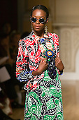 14-19 September 2008, London Fashion Week, Spring/Summer 2009 collection by Duro Olowu. Photo: Bettina Strenske