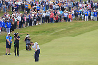 Robert Rock (ENG) chips into the 18th green during Sunday's Final Round of the Dubai Duty Free Irish Open 2019, held at Lahinch Golf Club, Lahinch, Ireland. 7th July 2019.<br /> Picture: Eoin Clarke | Golffile<br /> <br /> <br /> All photos usage must carry mandatory copyright credit (© Golffile | Eoin Clarke)