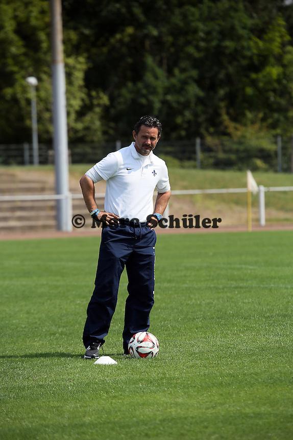 Trainer Dirk Schuster (SV 98)