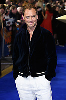 "Jude Law<br /> arriving for the ""Captain Marvel"" European premiere at the Curzon Mayfair, London<br /> <br /> ©Ash Knotek  D3484  27/02/2019"