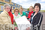 PLANS: Members of the Portmagee Development Group who have plans to build an extension to the local Community Centre, l-r: Anne O'Keeffe, Mairead Lynch, Mary Dennehy, Kathleen Barry, Marian Martin.