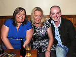 Celine Tiernan, John and Rosemary Fay pictured at the 80's night in the Rugby club. Photo: Colin Bell/pressphotos.ie