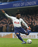 Tottenham Hotspur's Danny Rose<br /> <br /> Photographer Rob Newell/CameraSport<br /> <br /> The Carabao Cup Semi-Final Second Leg - Chelsea v Tottenham Hotspur - Thursday 24th January 2019 - Stamford Bridge - London<br />  <br /> World Copyright © 2018 CameraSport. All rights reserved. 43 Linden Ave. Countesthorpe. Leicester. England. LE8 5PG - Tel: +44 (0) 116 277 4147 - admin@camerasport.com - www.camerasport.com