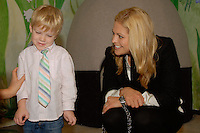 Princess Madeleine of Sweden officially opening the Swedish Children's Room at Scandinavia House in New York City on October 16, 2009.