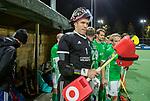 AMSTELVEEN - keeper Dave Harte (IRE)  voor    de hockeyinterland Nederland-Ierland (7-1) , naar aanloop van het WK hockey in India.  COPYRIGHT KOEN SUYK