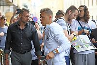Joshua Kimmich (Deutschland, Germany) - 31.08.2017: Teamankunft Deutschland in Prag, Marriott Hotel