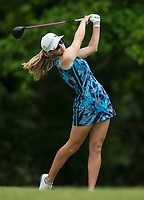 Amber Bosworth plays Tuesday, June 23, 2020, during the pro-am round of the Cooper Northwest Arkansas Charity Classic golf tournament at Bella Vista Country Club. Go to nwaonline.com/200624Daily/ to see more photos.<br /> (NWA Democrat-Gazette/Ben Goff)