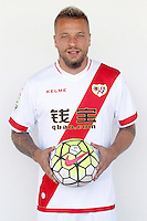 Rayo Vallecano's new player Patrick Ebert.