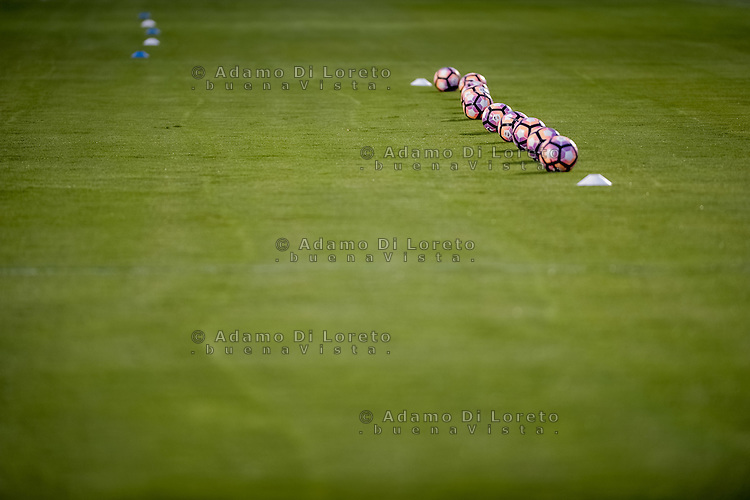 The Nike official balls after the Italian Serie A football match Pescara vs SSC Napoli on August 21, 2016, in Pescara, Italy. Photo by Adamo Di Loreto