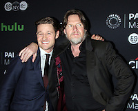 NEW YORK, NY-October 19: Ben McKenzie and Donal Logue at PaleyFest New York presents Gotham at the Paley Center for Media in New York.October 19, 2016. Credit:RW/MediaPunch