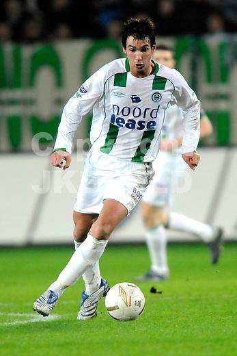 fc groningen - sc heerenveen eredivisie seizoen 2007-2008 14-03-2008.goran lovre.fotograaf Jan Kanning *** Local Caption ***