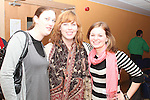 Aoife Keane, Deborah Conlon and Karen King at the Development Perspectives Meeting in The Barbican...(Photo credit should read Jenny Matthews www.newsfile.ie)....This Picture has been sent you under the conditions enclosed by:.Newsfile Ltd..The Studio,.Millmount Abbey,.Drogheda,.Co Meath..Ireland..Tel: +353(0)41-9871240.Fax: +353(0)41-9871260.GSM: +353(0)86-2500958.email: pictures@newsfile.ie.www.newsfile.ie.