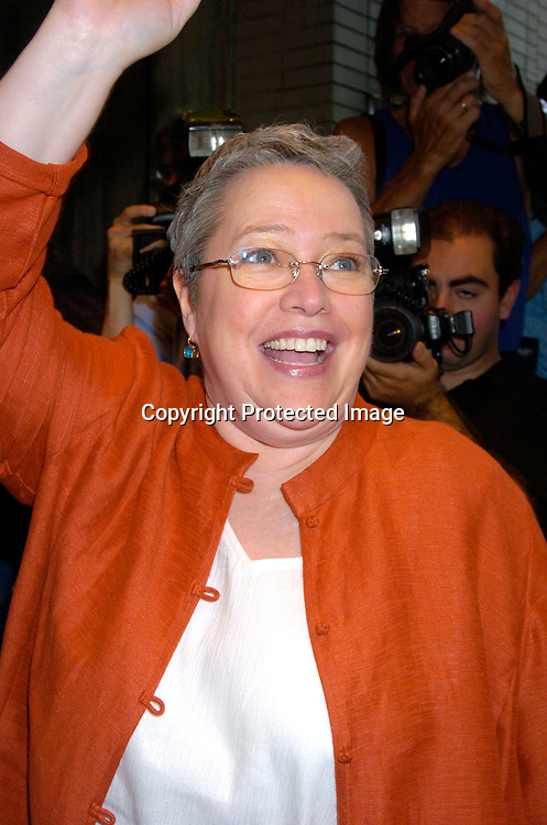 "Kathy Bates..at the World Premiere of ""The Manchurian Candidate"" ..on July 19, 2004 at the Clearview Cinema's Beekman ..Theatre. Photo by Robin Platzer, Twin Images"
