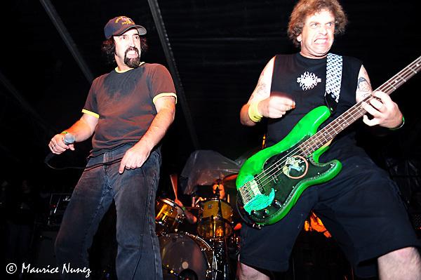D.R.I. live at the FUN FUN FUN FEST in Austin, TX 11/08/09.