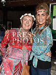 Eimear Davis celebrating her 50th birthday in Sarsfields with sister inlaw Maureen Brady. Photo:Colin Bell/pressphotos.ie