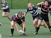 Penn State women's rugby Carly Waters against Washington DC Furies women's rugby on April 22, 2017.  Penn State won 60-10. Photo/©2017 Craig Houtz