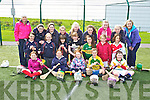 Pupils from Third, Fourth, Fifth and Sixth classes of Scoil Naomh Eirc, Kilmoyley at the 'bring Camogie back'  an initiative by the Munster Council to get schools in Kerry to play Camogie, the event was held at the IT North Campus on Friday