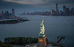 USA, New York, Statue of Liberty, Ellis Island, Manhattan