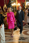 Esperanza Aguirre attends to Sapnish National Day palace reception at the Royal Palace in Madrid, Spain. October 12, 2018. (ALTERPHOTOS/A. Perez Meca)