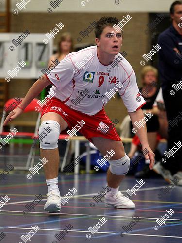 2007-09-18 / Volleybal / Precura Antwerpen / Yannick Sophie