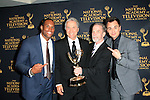 LOS ANGELES - APR 24: Lawrence Saint Victor, Jim Dray, Gordon Sweeney, Darin Brooks at The 42nd Daytime Creative Arts Emmy Awards Gala at the Universal Hilton Hotel on April 24, 2015 in Los Angeles, California