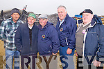 Abbeydorney men Stephen and Brendan Glavin, Sonnie Egan, Tom O'Mahony and Jonnie Lawlor pictured at the National Ploughing Championship on Wednesday.