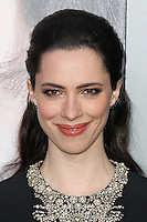 "WESTWOOD, LOS ANGELES, CA, USA - APRIL 10: Actress Rebecca Hall arrives at the Los Angeles Premiere Of Warner Bros. Pictures And Alcon Entertainment's ""Transcendence"" held at Regency Village Theatre on April 10, 2014 in Westwood, Los Angeles, California, United States. (Photo by Xavier Collin/Celebrity Monitor)"