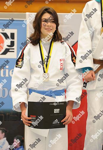 2011-02-13 / Judo / seizoen 2010-2011 / VK U17 Herentals / -48 / Larissa Algoet..Foto: mpics