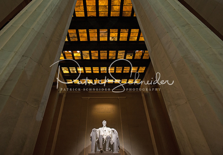 Lincoln Memorial Monument in Washington DC.