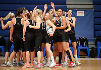 14.10.2016 Silver Ferns in action at the Silver Ferns training at the Auckland Netball Centre in Auckland. Mandatory Photo Credit ©Michael Bradley.