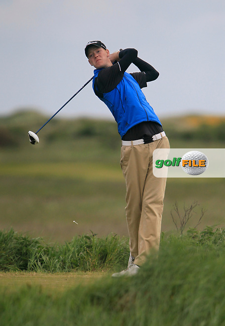 Paul Coughlan (Moate)<br /> during the 2nd round of the East of Ireland Amateur Open Championship 2013 Co Louth Golf club 2/6/13<br /> Picture:  Thos Caffrey / www.golffile.ie
